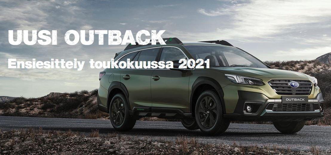8. toukokuuta on pitkään odotetun täysin uuden Outbackin ensiesittely. – Autotalo Jedi